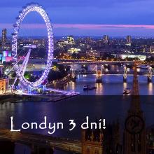 Londyn - 3 dni - SUPER OFERTA